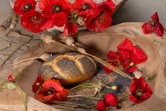 Poppy, Poppy Flower, Poppy Capsule, Flower, Roll, Seeds
