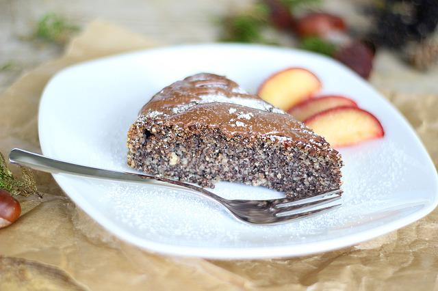 Poppy, Cake, Plum, Delicious, Sweet, Poppy-seed Cake