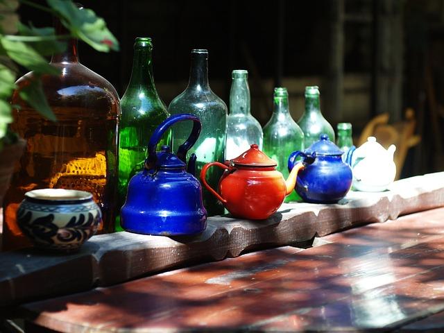 Glass, Jug, Mug, Drink, Alcohol, Rural, Old, Porcelain