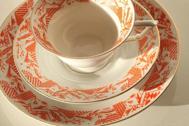 Builds, Bavaria 35, Coffee Party, Old Ladies, Porcelain