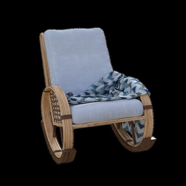 Rocker, Chair, Rocking Chair, Granny, Livingroom, Porch