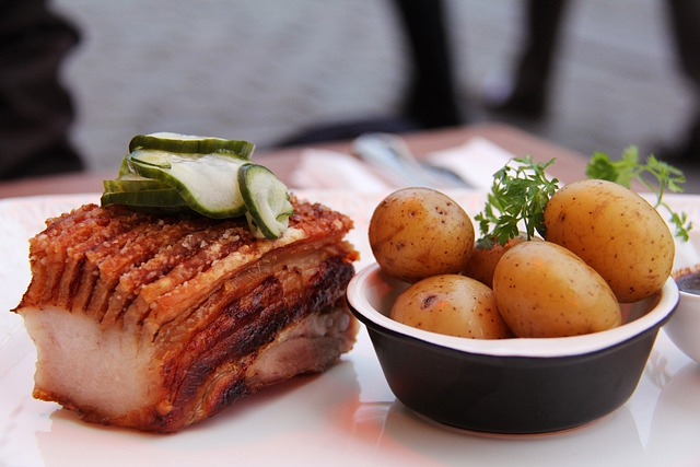 Food, Delicious, Roast Pork Belly, Pork Belly, Pork