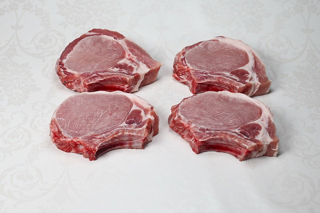 Pork, Pork Chops, Cutlet, Meat, Food, Dinner, Meal