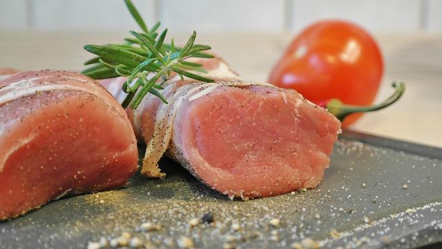 Fillet, Pig, Pork Tenderloin, Fry, Food, Bacon, Eat