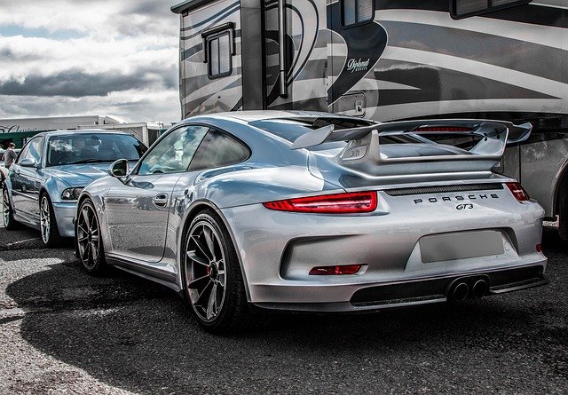 Porsche 911 Gt3, Car, Auto, Motor, Show, Transportation