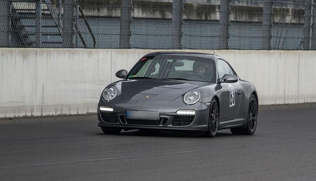 Auto, Porsche, Sports Car, Automotive, Training