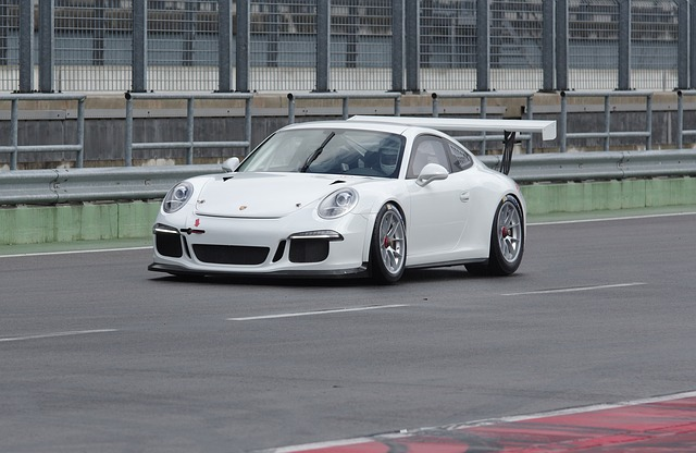 Auto, Porsche, Sports Car, Race Track, Lausitzring
