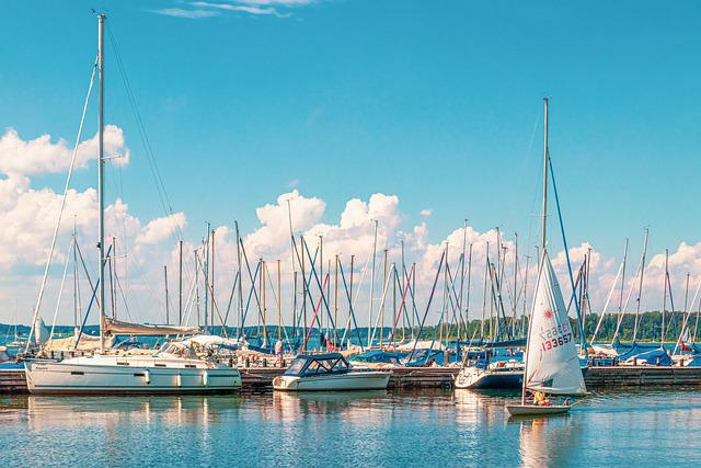 Port, Boat, Sailing Boat, Nature, Landscape, Water