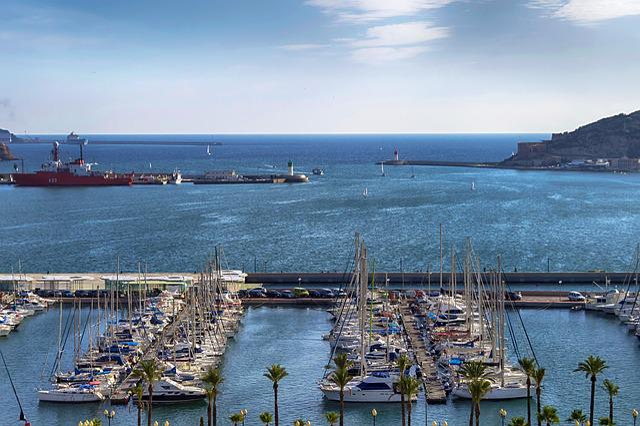 Sea Port, Port, Boats, Jetty