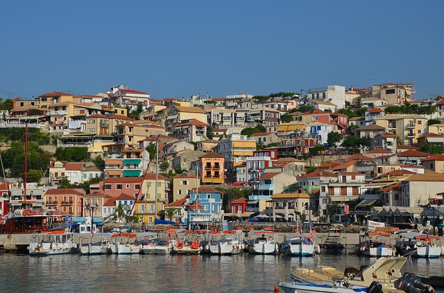 Parga, Epirus, Greece, Sea, Port City