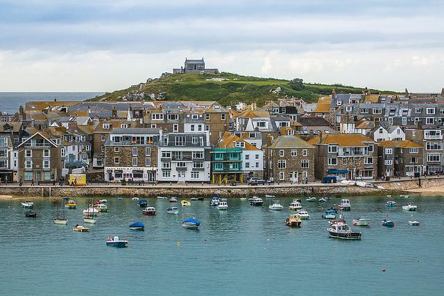 St Ives, Cornwall, Port, Ocean