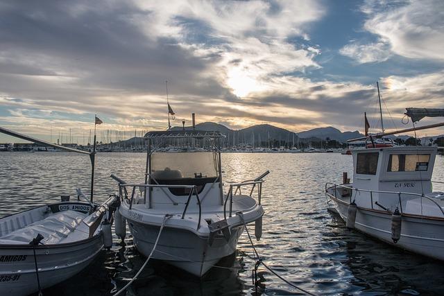Mallorca, Port D'alcúdia, Alcudia, Fishing Boat