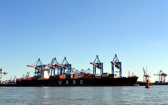 Hamburg, Port, Hamburg Port, Elbe, Ship, Crane