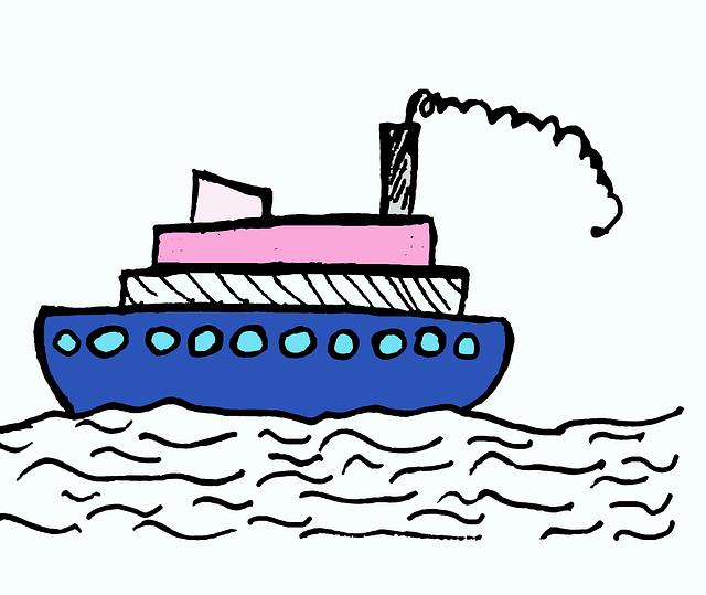 Ship, Sea, Water, Fishing Boat, Boat, Ferry, Port