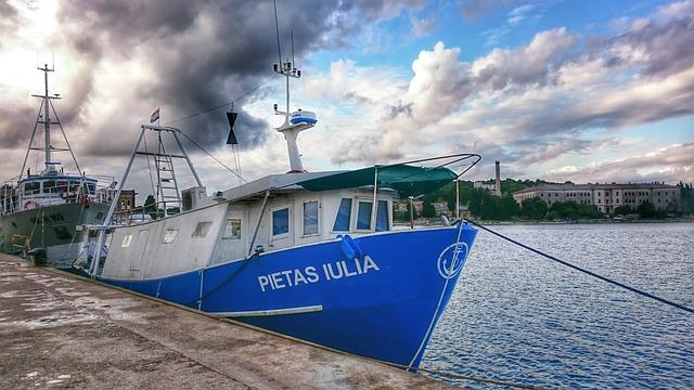 Adriatic Sea, Harbour, Port, Boat, Ship, Fisherman