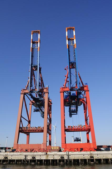 Port Industry, Container, Container Cranes