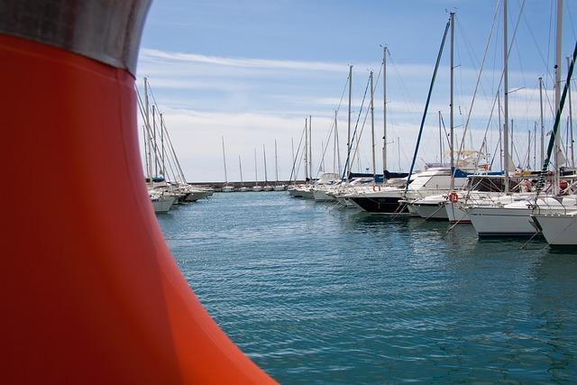 Sailing Boats, Yacht, Port, Marina, Lifebelt, Sanremo