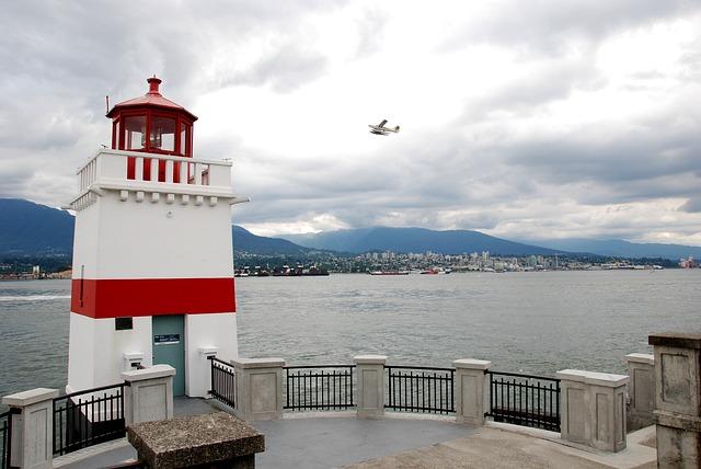 Vancouver, Port, Lighthouse