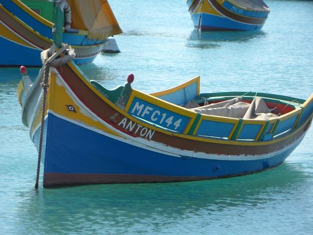 Fishing, Port, Malta, Marsaxlokk, Fishing Boat, Boot