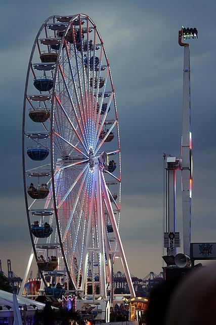 Ferris Wheel, Jumper, Port Motifs, Harbour Cruise