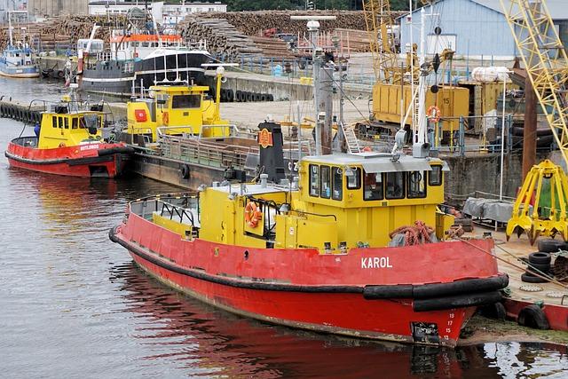 Ship, Lake, Sea, Shipping, Water, Boot, Port, Kołobrzeg