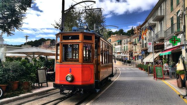 Mallorca, Port Soller, Tram
