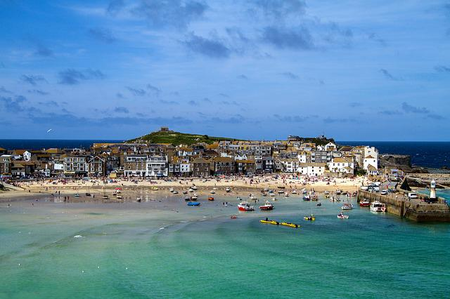 St Ives, Cornwall, England, South Gland, Port