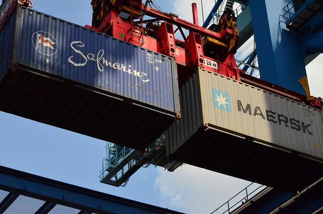 Container, Container Crane, Port, Spreader, Twinlift