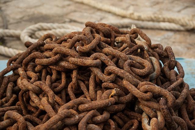 String, Rust, Rings, Port, Ferrraille, Metal