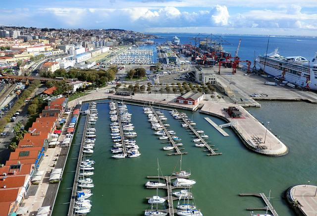 Port, Lisbon, View