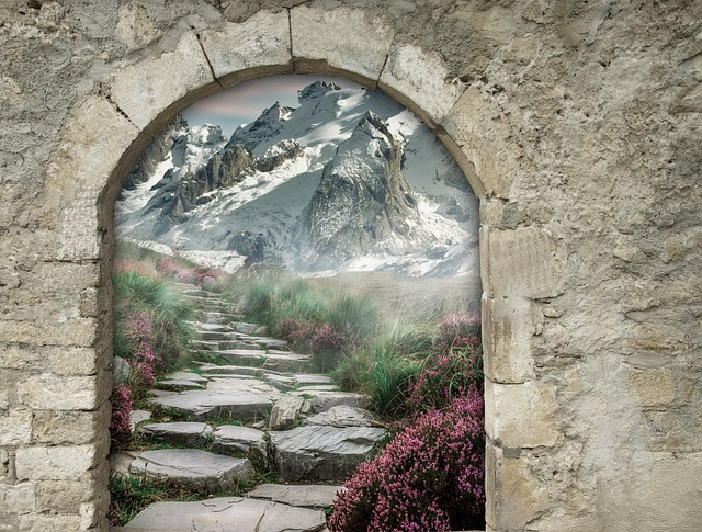 Fantasy, Gate, Arch, Portal, Magic, Art, Architecture