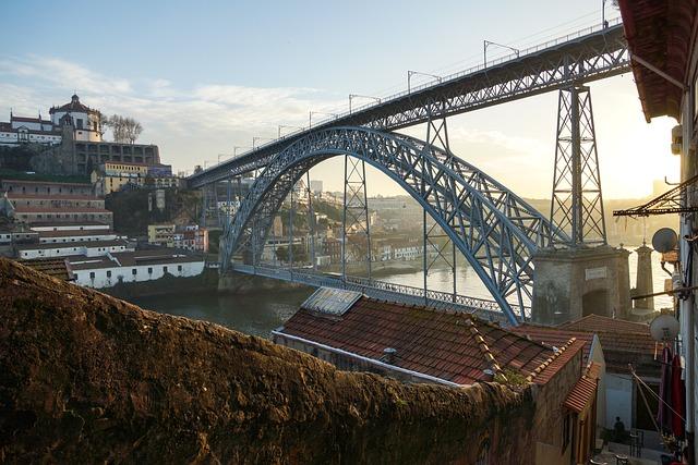 Porto, Portugal, City, Tiles, Building, Rio, Tourist