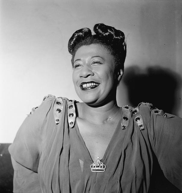 Ella Fitzgerald, Portrait, 1946, Jazz Singer