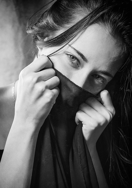 Adult, People, Portrait, A, Woman, Eyes, Girl, Young