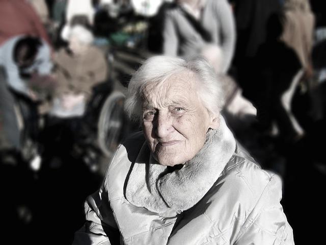 Woman, Elderly, Portrait, Old, Senior, Aged, Grandma