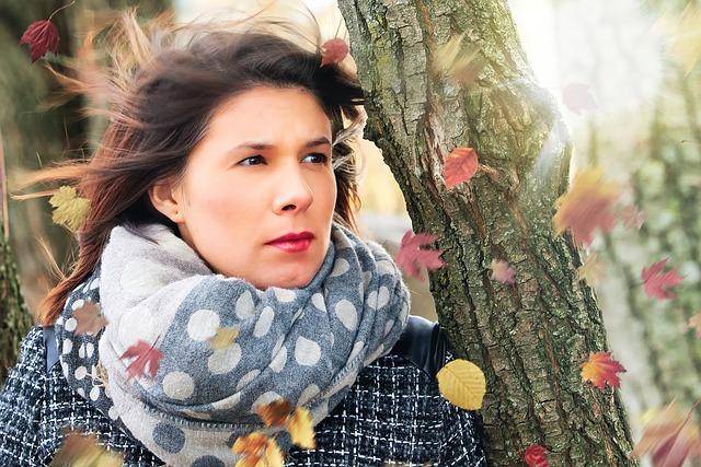 Woman, Autumn, Girl, Face, Brown, Portrait, Agriculture