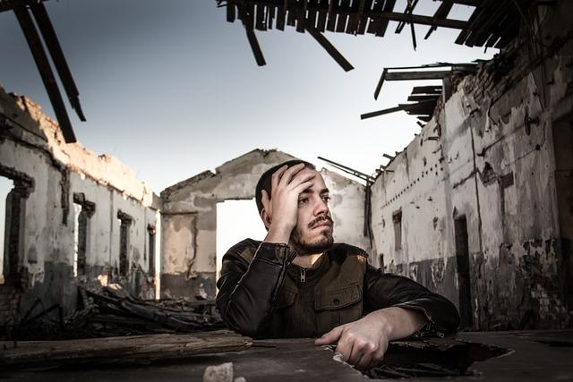 People, Street, Man, Broken, Abandoned, Portrait, Alone