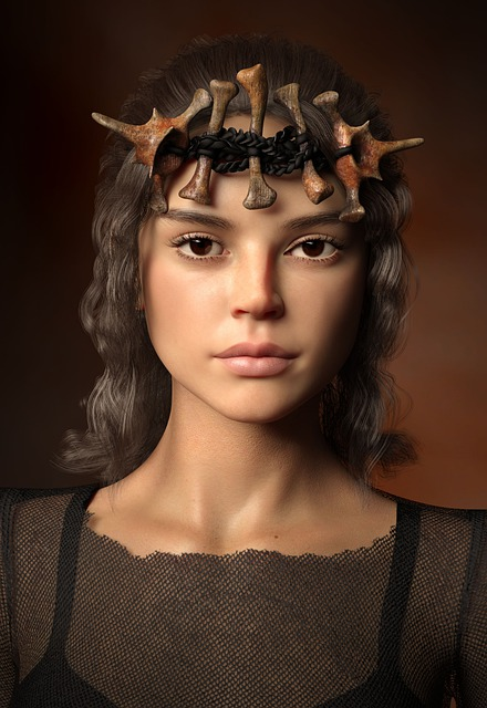 Woman, Portrait, Crown, Middle Ages, Attractive
