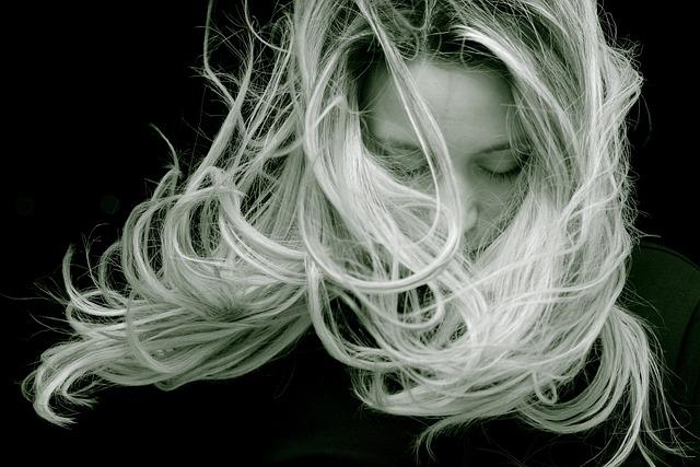 Beautiful, Woman, Hair, Blond, Long Hair, Portrait