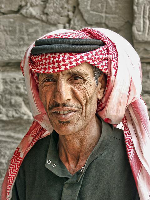 Jordan, Al-kharrana, Castle, Guardian, Portrait