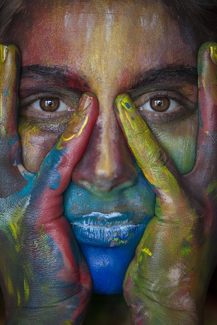 Colors, Portrait, Macro, Canon, Coloring, Multicolour