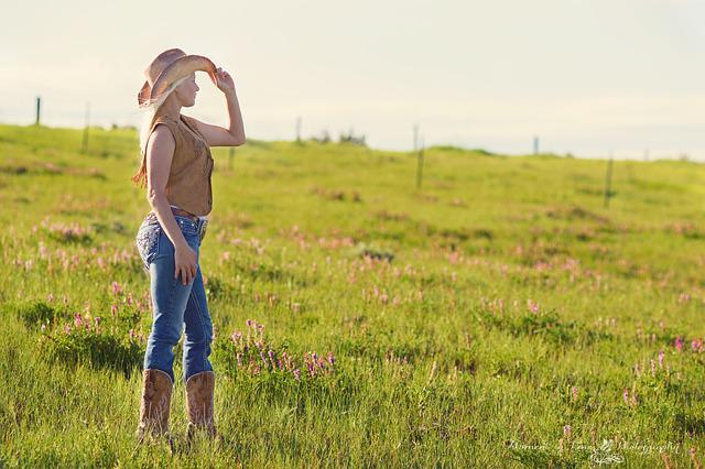 Country, Girl, Women, Summer, Portrait