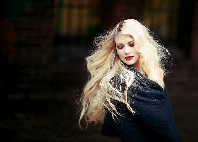 Portrait, Woman, Girl, Blond, Hair, Long Hair