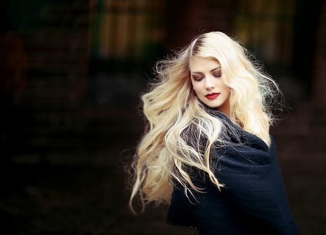 Portrait, Woman, Girl, Blond, Hair, Long Hair