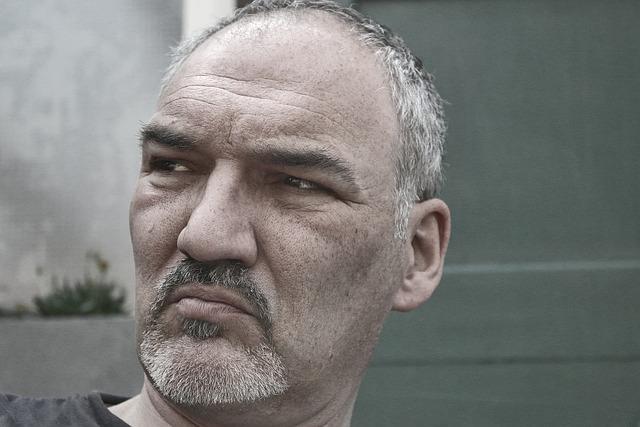 Man, Head, Portrait, Face, Age, Monochrome, Mürig