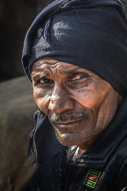 Indians, Portrait, Man, Human, Head, Old, Older, Face