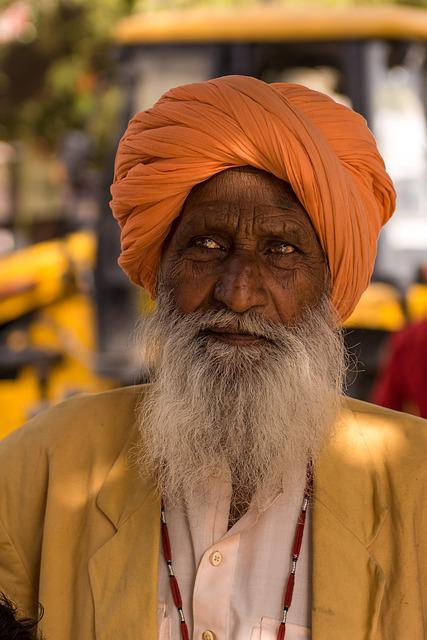 Indians, Portrait, Man, Human, Turban, Face, Faith