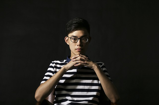 Character, Portrait, Man, Young People, Male, Glasses