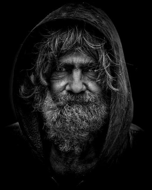 Man, Portrait, Homeless, Poverty, Male, Poor