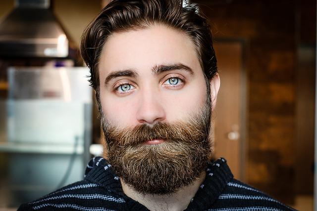 Beard, Face, Man, Model, Mustache, Person, Portrait